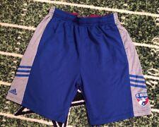 Adidas FC Dallas MLS Blue Futbol Soccer Shorts YOUTH XL (size 18)