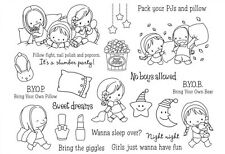 Sweet Dreams Transparent Clear Silicone Stamp DIY Scrapbooking Card Making Craft