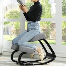 Used Ergonomic Kneeling Chair Rocking Balancing Kneel Stool Improving Posture