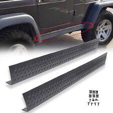 Side Body Armor Rocker Panel Kit for 1997-2006 Jeep TJ Wrangler 11650.05