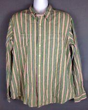 Vtg Polo Ralph Lauren Striped XXL Shirt