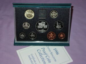 1996 ROYAL MINT PROOF SET OF COINS - £5 Crown + Euro '96 Football £2