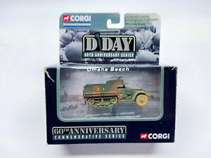 Corgi D Day 60th Anniversary series M3 Half track CS90195