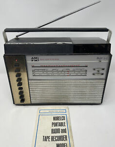 Norelco 22 RL 962 AM FM SHORT LONG WAVE RADIO CASSETTE RECORDER Doomsday Prepper
