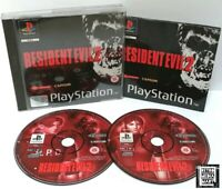 Resident Evil 2 ~ Sony Playstation PS1 Black Label Game ~ PAL *Very Good CIB*