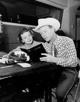 American Actor And Singer Roy Rogers And His Wife Actress Dale Evans OLD PHOTO