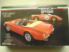 "Fujimi 1:24 Scale ""Enthusiast"" Ferrari 365GTS/4 Daytona Spyder Model Kit - New"