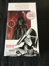 "HASBRO STAR WARS 6"" BLACK SERIES SECOND SISTER INQUISITOR WHITE BOX FALLEN ORDER"