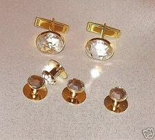 Cufflinks Cufflinks Star Design with Crystal Stones Noble Vintage MS102