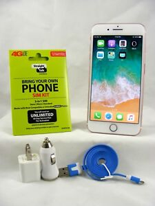 Apple iPhone 7 Plus - 128GB-Gold (Verizon Straight Talk Activation SIM card )