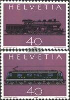 Schweiz 1214-1215 (kompl.Ausgabe) postfrisch 1982 Gotthard-Bahn