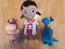 Authentic Doc Mc Stuffins Plush Toy Bundle