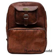 c5ec053f8 Women Backpack Genuine Leather Shoulder School Rucksack Casual Travel Bag