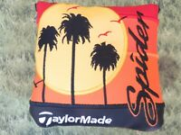 TOUR ISSUE TaylorMade CALIFORNIA A GOLDEN STATE OF MIND SPIDER Putter Headcover