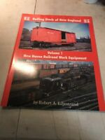 Rolling Stock of New England Volume 1 : New Haven Railroad Work Equipment