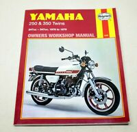 Yamaha 250 & 350 Twins 1970 to 1979 Owners Workshop Manual