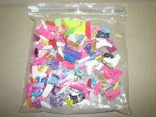 BARBIE SINGLE UNMATCHED LOOSE SHOE LOT OF 100 + REPLACEMENTS SHOES