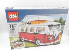 Lego 10220-volkswagen t1 furgón vivienda/Camper Van-nuevo/en el embalaje original-New