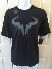 "NIKE Men`s Rafa Tennis T Shirt ""Bull logo Spay"" NY 2013"