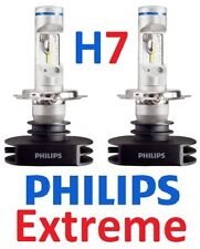 1 pr H7 Philips Ultinon Extreme LED Globes Bulbs 12v 24v +200% Brighter