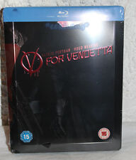 NEW V For Vendetta Blu-Ray Steelbook U.K. Import Zavvi