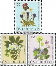 Austria 2631-2633 mint never hinged mnh 2007 Flowers