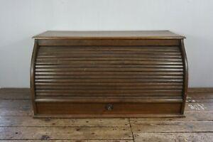 Jugendstil Rollbüro Rolladenschrank Schreibtisch Aufsatz desk Vintage