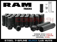 2002-2011 DODGE RAM 1500 TRUCKS DUPLEX SPLINE LUG NUTS AFTERMARKET WHEELS + 2KEY