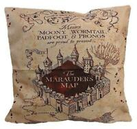 Harry Potter Cushion Throw Pillow Case Marauders Map Home Decor 38