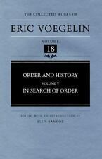 Order and History (Volume 5): In Search of Order (Collected Works of-ExLibrary