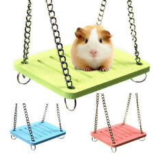 Pet Hamster Hanging Swing Rats Parrots Exercise Cage Swings Play Toy Funny