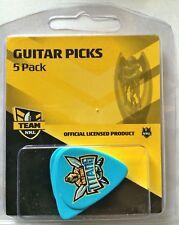 Gold Coast Titans NRL Guitar Picks * 5 Team Logo Picks