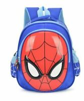 Bolsas de Escuela Impermeable Mochila Infantil Spiderman Libro Bolso Bandolera