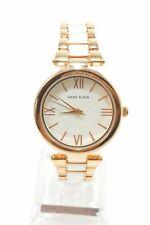 Anne Klein AK3040 White Dial Two Tone Stainless Steel Bracelet Ladies Watch