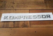 Kompressor Insignia Cromo Mercedes Benz C63 S63 E63 ML63 SL63 SL55 CLK55 SLK55