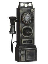 Halloween Grusel annimierte Dekoration altes Telefon mit Licht und Musik 37x12cm