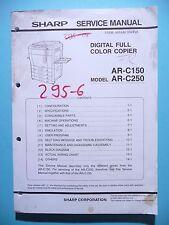 Manuel de reparation pour Sharp AR-C150/AR-C250,ORIGINAL