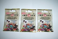 DISNEY INFINITY TRU Exclusive Gold Power Disc Packs 3 Different Rares 2.0 3.0