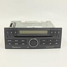Skoda Fabia 2001 Grey SkodaAuto Symphony Radio CD Player WITH CODE - 6Y0035156E