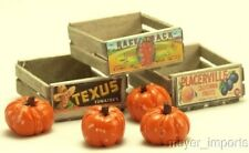 Cargo-To-Go: Vintage Fruit Crates and Pumpkin Set