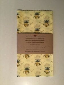 Beeswax Wraps Bread XXL Size 50cm Square UK Lincolnshire Beeswax Handmade