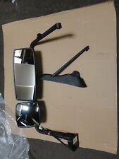 International 3602836C95 Model 4300 LH/Driver Side Mirror Black Heated