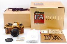 """Unused"" Nikon FA Gold Camera Grand Prix 84 Model w/ Ai-s 50mm F/1.4 Lens B194"