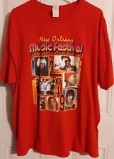 2019 New Orleans Music Festival 2XL Red T Shirt 25th Anniversary