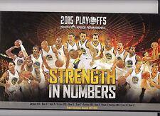 2015 Golden State Warriors NBA playoffs Finals 64 ticket stubs in booklet book