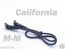 "12"" 12 inch Male to Male M-M FLASH PC Sync Cable Cord Trigger"
