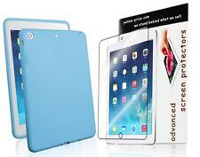 Soft Silicone Case+ Clear Screen Skin for iPad Mini 2 w/Retina Display- 2014 NEW