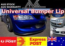 Universal Front Bumper Lip Spoiler GTR EVO STI WRX RX7 RX8 DC2 DC5 EG EK9 AE86