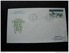 TAAF carta 1/1/83 - sello stamp - yvert y aire de tellier nº74 (cy7)
