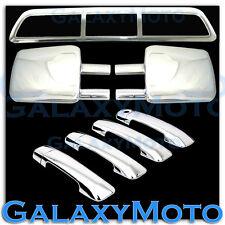 07-13 TOYOTA TUNDRA Towing Mirror+Chrome 4 Door Handle+3rd Brake Light kit over